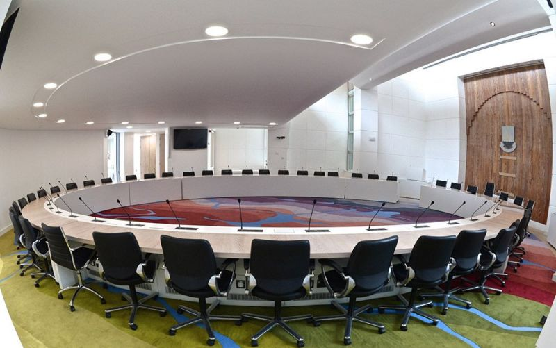Galway Council Chamber, Prospect Hill, Galway - EMP Furniture